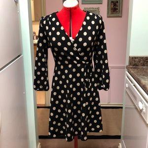NWOT faux wrap knit dress